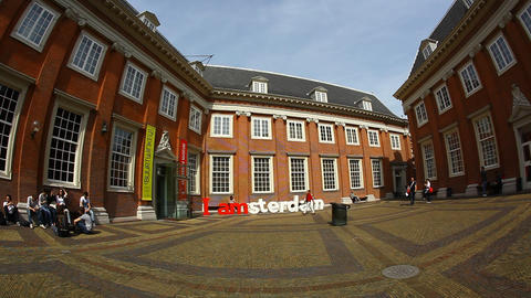 The Amsterdam Museum Netherlands Full HD stock footage