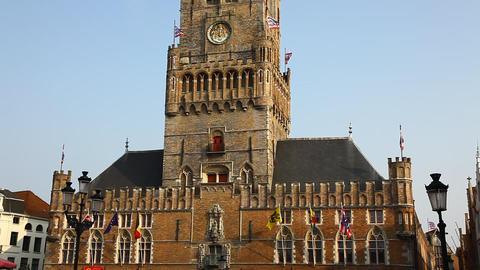 The Bruggemuseum (Bruges Museum) Belfort tower, Be Footage