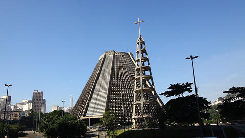 Cathedral St. Sebastian Rio de Janeiro Brazil FULL Live Action