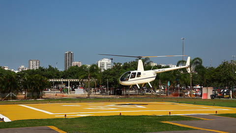 Aerial Rio de Janeiro Brazil helicopter flight FUL Footage