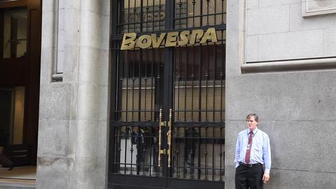 Bovespa Brazilian Stock Exchange Market FULL HD Footage