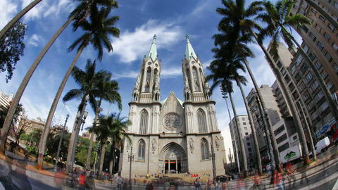 4K UHD CATEDRAL DA SE - Sao Paulo / Metropolitan C Footage