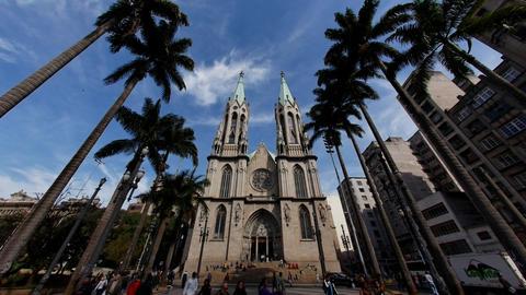 CATEDRAL DA SE - Sao Paulo / Metropolitan Cathedra Footage