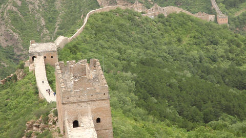 Great Wall At Simatai, China stock footage