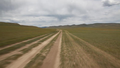 The transmongolian highway Footage