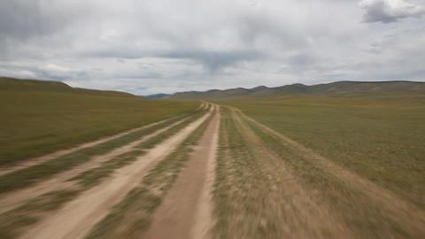 The transmongolian highway Footage