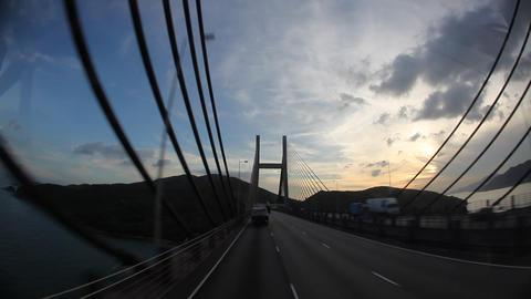 Driving in Hong Kong Footage