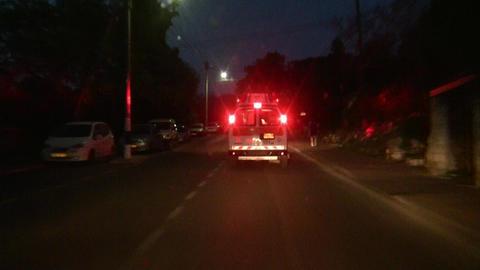 Ambulance chasing to claim insurance money Live Action