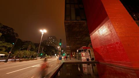 4K UHD Avenida Paulista Museum of Art MASP Sao Pau Footage