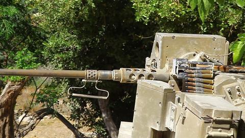 Machine gun Footage