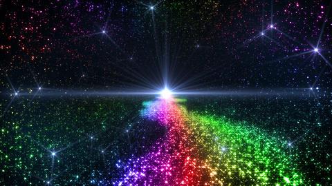 Space Stars milky way C 6ra 4k Animation