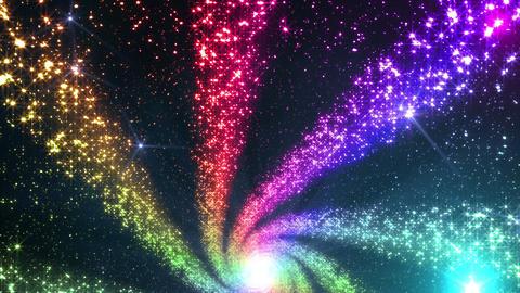 Space Stars milky way DF 8raf 4k Animation