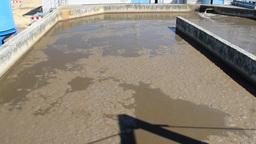 Sewage Treatment Plant stock footage