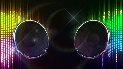 Speaker Equalizer P2MF2 Animation