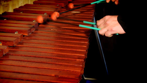 Xylophone Stock Video Footage