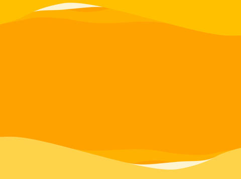 Orange waves background. Looping Animation