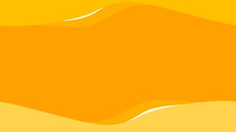 Orange waves background. Looping Stock Video Footage