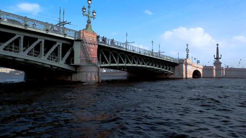 4337 SP Channel Bridge01 HD Footage