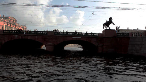 4343 Bridge Sunlight HD Stock Video Footage