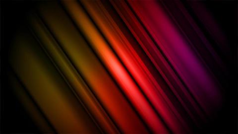 Aurora Lighting Effect Loop Diagonal Stock Video Footage