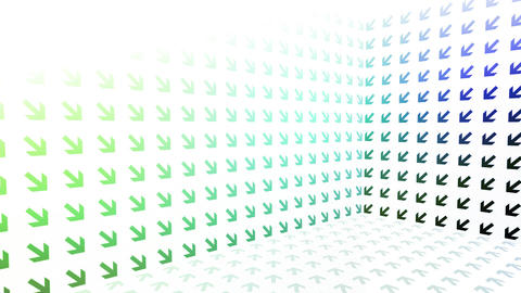 Rainbow Arrows Background Animation