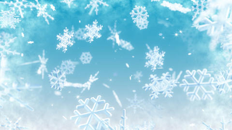 Snow Flake AL1 Animation