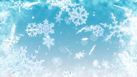 Snow Flake AL1 Stock Video Footage