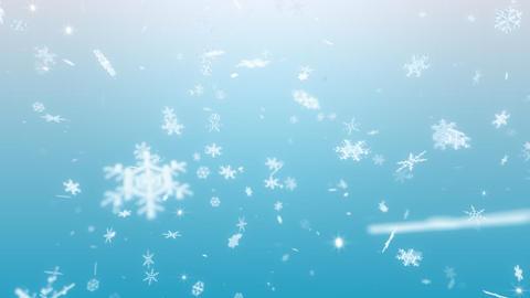 Snow Flake BM1 Stock Video Footage