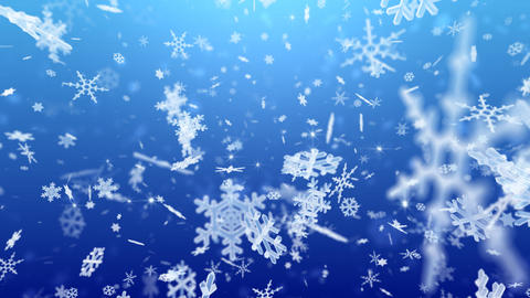 Snow Flake Bmix2 Animation