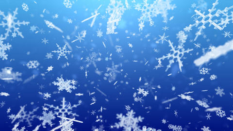 Snow Flake Bmix2 Stock Video Footage
