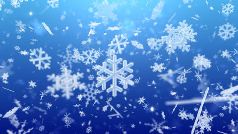 Snow Flake Bmix2 Stock Video Footage