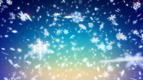 Snow Flake BM5 Stock Video Footage
