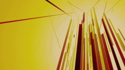 Abstract Lines Reaching Up Animation