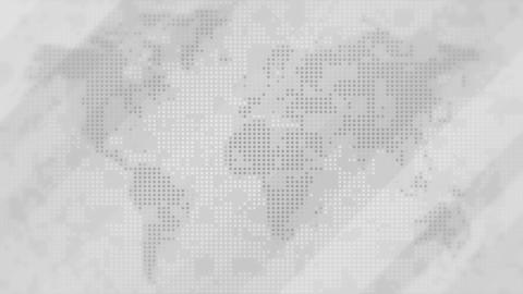 Diagonal red arrows over world map Stock Video Footage