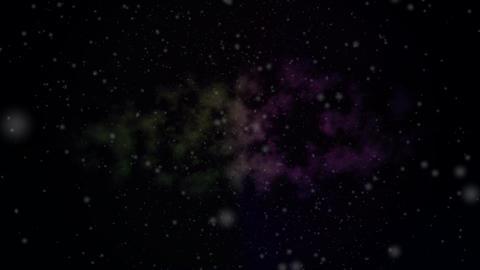 Galaxy Starfield HD Loop Animation