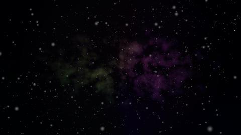 Galaxy Starfield HD Loop Stock Video Footage