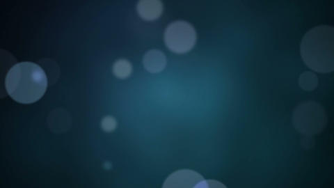 Particle dust effect on blue Animation