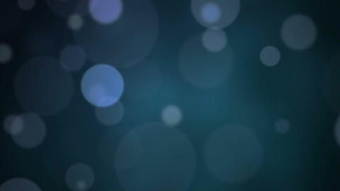 Particle dust effect on blue Stock Video Footage