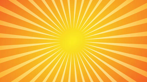 Hot Sunburst Background Stock Video Footage