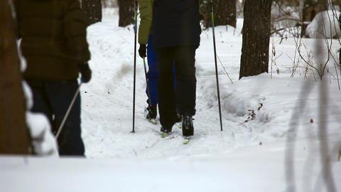 Ski trip Footage