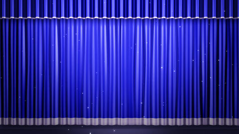 Stage Curtain 2 Fb1 CG動画素材