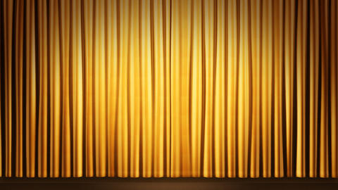 Stage Curtain 2 Fg1 Animation