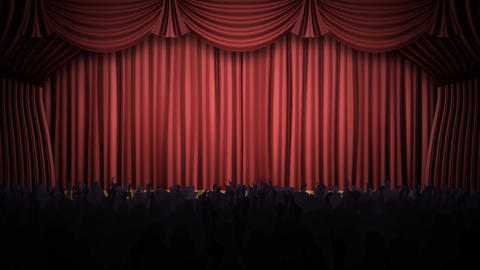 Stage Curtain 2 Fp1 Animation