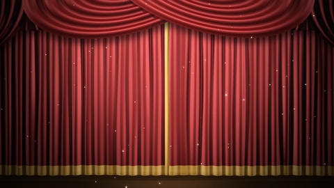 Stage Curtain 2 Fr3 Animation
