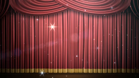 Stage Curtain 2 Fri3 HD Animation