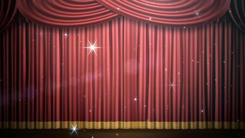 Stage Curtain 2 Fri3 HD Animation