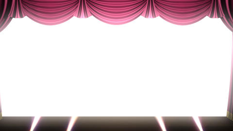 Stage Curtain 2 Frs1 HD Animation