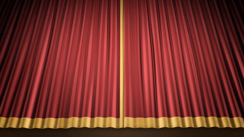 Stage Curtain 2 Ur1 Animation