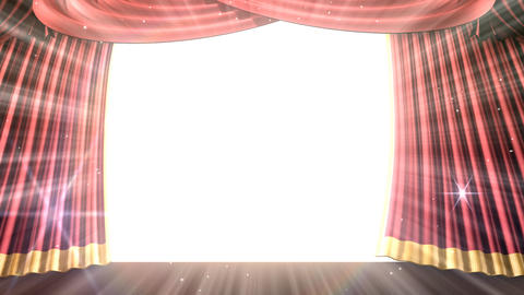 Stage Curtain 2 Urc2 Animation