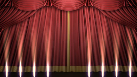 Stage Curtain 2 Urs2 Animation